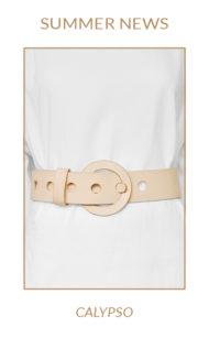Découvrez la nouvelle ceinture Calypso, design Fabien Ifirès